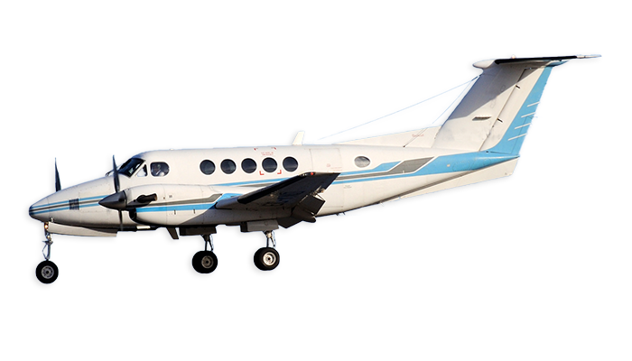 Beech BE200 Super King Air Charter