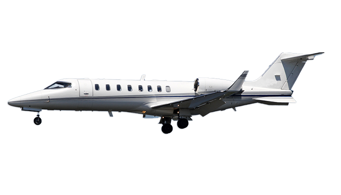 Learjet 45 / 45XR Charter