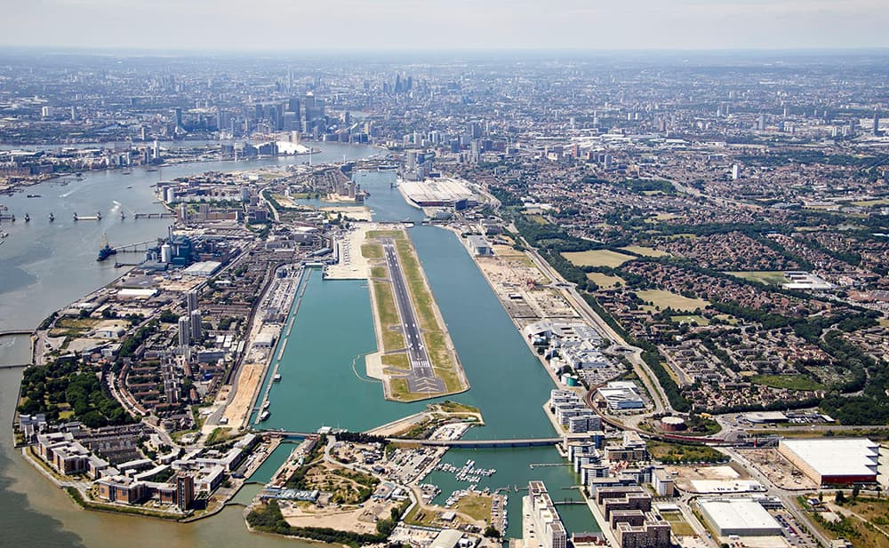 Picture of London City Airport
