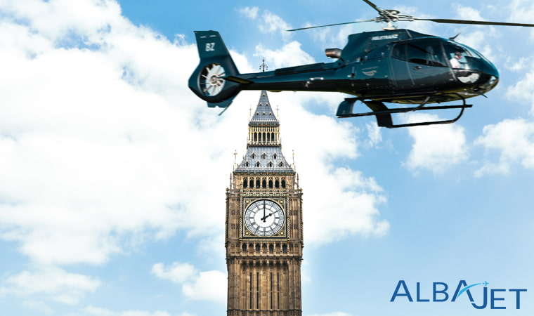 Private Helicopter Hire London